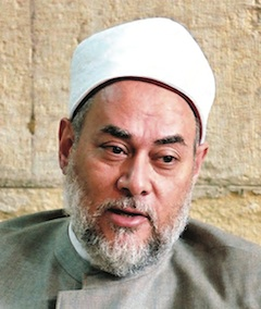 The 'Green Grand Mufti of Egypt' Sheikh Dr Ali Goma'a - SheikhAliGomaa-240